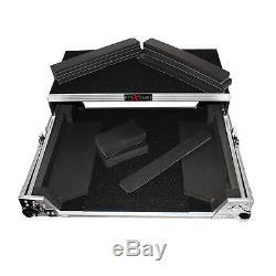 PROX XS-UXLT Universal DJ controller Flight case road ready with Laptop Shelf
