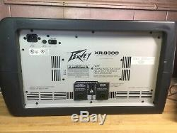 Peavey XR8300 powered mixer 600 Watts 2 X 300 Amp Monitor Tested Works Great