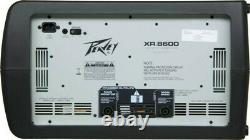 Peavey XR8600 Power Mixer with Road Ready Custom Case