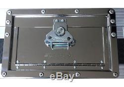 Pioneer CDJ1000 DJM600 Swan Flight Case DJ Mixer Coffin (Hex)