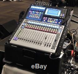 PreSonus StudioLive 16 Series III Digital Mixer In Hard Gator Rack Pop Up Case