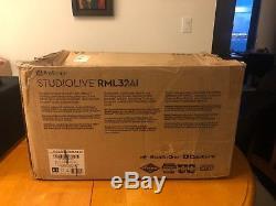 PreSonus StudioLive RML32AI 32-Input Digital Mixer with Rack Case or Box