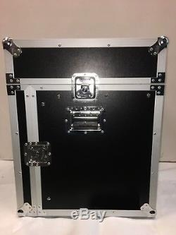 Premium ATA 10U Slant Mixer Rack/10 U Vertical Rack with Caster board