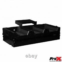 Pro X DJ Flight Case for Pioneer DJM-900 Mixer & Two CDJ-2000NXS2 Players(Black)