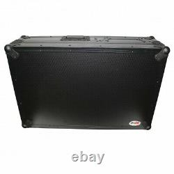 Pro X Flight Case for Single Turntable & 10 Inch or 12 Inch Mixer (Black)