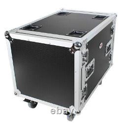 Pro X T-10RSS24 24 Depth Standard 19 10U Rack Case with Wheels