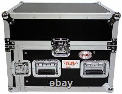Pro X T-6MR 6U x 10U Space Slant Combo DJ ATA 300 Flight Rack Case