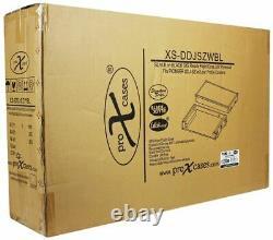 Pro X XS-DDJSZWBL Black DJ ATA Flight Hard Case for Pioneer DDJ-SZ Controller