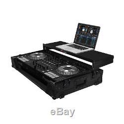 Pro-X XS-DDJSZWLT Black Pioneer DDJ-SZ DJ Flight Case WithGlide Shelf +Wheels