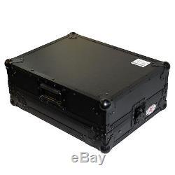 Pro-X XS-DNMC6000LT Black Denon DNMC6000 Controller DJ Flight Case WithGlide Shel