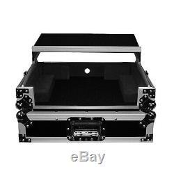 Pro-X XS-DNMC6000LT Denon DNMC6000 Controller DJ Flight Case Glide Shelf