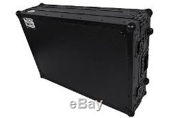 Pro X XS-NS7IIIWBL Travel Flight Case with Wheels 4 Numark NS7III / NS7 III II 2 3