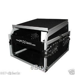 ProX 13U Top 6U Front T-6MRSS13ULT DJ PA Mixer Hard Flight Case Laptop 19 Mount