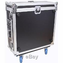 ProX Behringer X32 Compact Mixer ATA Flight Case With Doghouse + Wheels