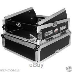 ProX Behringer XENYX X1832USB 10U 2U Mixer DJ Rack Flight Road Gig Ready Case