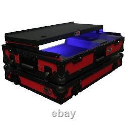 ProX Pioneer DDJ-SX/DDJ-SX2 Red/Black Flight Case with Red TSA Lock