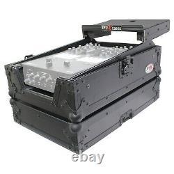 ProX Rane Seventy Two 72 Mixer w Pair Rane Twelve 12 Flight Cases Black Package