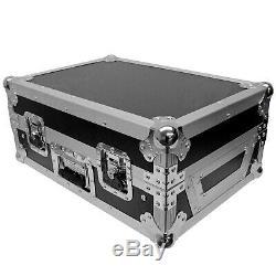 ProX Rane Seventy Two 72 Mixer w Rane Twelve 12 Flight Case Silver Package