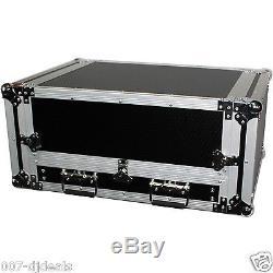 ProX T-2MRSS13ULT 13U slant 2U Mixer Amp RackMount Case Sliding laptop Shelf