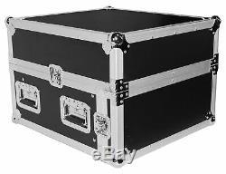 ProX T-4MRLT 4U Rack x 10U Top Mixer DJ Combo Flight Case withSliding Laptop Shelf