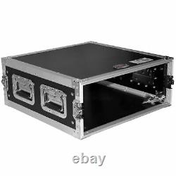 ProX T-4RSS 4U Space Amp Rack Mount ATA Style Flight Case 19 In. Depth