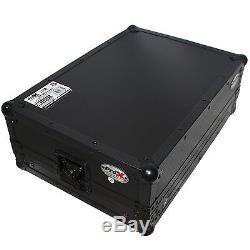 ProX X-19MIX7UBL 19 Mixer Case 7U (7-Space) Slant & Removable Front Panel BLACK