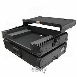 ProX X-DDJSB3-LTBL Pioneer DDJ-SB3, DDJ-400, DDJ-RB Flight Case & Sliding Shelf