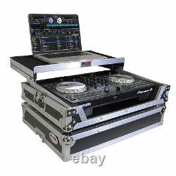 ProX X-DDJSB3LT Case fits Pioneer DDJSB3 & DDJ400 Controller WithLaptop Shelf