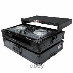 ProX X-DDJSB3LTBL Case fits Pioneer DDJ-SB3 & DDJ-400 Controller WithShelf Black