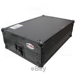 ProX X-DDJSB3LTBL Pioneer DDJ-SB3, DDJ-400, DDJ-RB Flight Case & Sliding Shelf