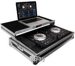 ProX X-MXTSBLT Hard Case For Pioneer DDJ-SB & Numark Mixtrack Pro/Pro II WithShelf