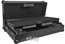 ProX X-MXTSBLTBL Black Hard Case Pioneer DDJ-SB/Numark Mixtrack Pro/Pro II+Shelf
