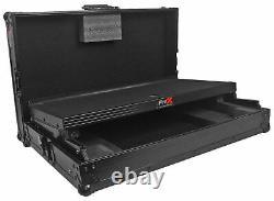 ProX X-NVLTBL Black Numark NV Controller Hard Case WithGliding Laptop Shelf