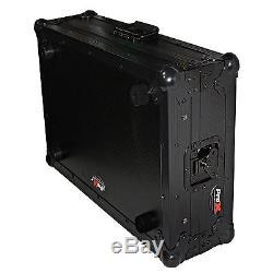 ProX X-NVLTBL Black Numark NV or NVII DJ Controller Flight Case