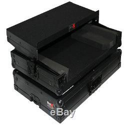 ProX X-NVLTBL Numark NV DJ Controller Road Flight Case with Laptop Glide Shelf