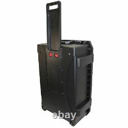 ProX XM-1101HW VaultX Large Watertight Case WithHandle, Wheels & Pluck-N-Pak Foam