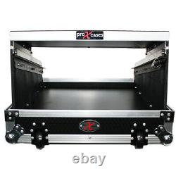 ProX XS-19MIX14ULTHW 19 Mixer Case with 14U Top Mount for 16 Channel Mixer+Shelf