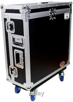 ProX XS-AHQU32DHW Allen and Heath QU-32 Mixer Case with Doghouse and Wheels NEW