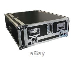 ProX XS-BX32DHW Mixer Case for Behringer X32 Console with Doghouse and Wheels
