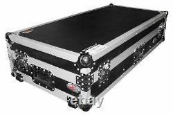 ProX XS-CDM2000WLT Flight Case withLaptop Shelf+Wheels 4 Pioneer DJM 900/CDJ 2000