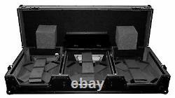 ProX XS-CDM2000WLTBL Flight Case+Laptop Shelf+Wheels 4 Pioneer DJM 900/CDJ 2000