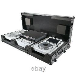 ProX XS-CDM3000WLTBL Flight Case For Pioneer Mixer DJM-900NXS2 & (2) CDJ-3000