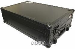 ProX XS-DDJ1000 WLTBL LED Black Flight Road Case+Wheels 4 Pioneer DDJ-1000 SRT