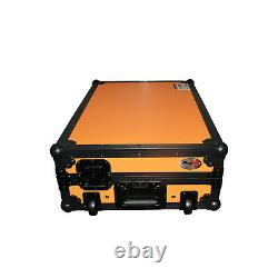 ProX XS-DDJ1000WLTOB Flight Case for Pioneer DDJ1000SRT W-Laptop Shelf & Wheels