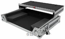 ProX XS-DDJRRLT DJ Controller Hard Travel Flight Case 4 Pioneer DDJ-RR, DDJ-SR