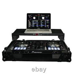 ProX XS-DDJRRLTBL Pioneer DDJ-SR Flight Road Case Glide Style Laptop BLACK LABEL
