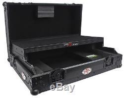 ProX XS-DDJSR-LTBL All Black DJ Controller Hard ATA Flight Case 4 Pioneer DDJ-SR