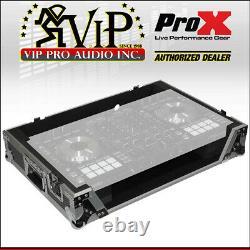 ProX XS-DDJSX Digital Controller Flight Case For Pioneer DDJ-SX2 DDJ-SX3 DDJ-RX