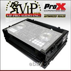 ProX XS-DDJSXBL Controller Flight Case For Pioneer DDJ-SX2 DDJ-SX3 DDJ-RX Black