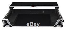 ProX XS-DDJSXWLT DJ Flight Case For Pioneer DDJ-SX2WithGliding Laptop Shelf+Wheels
